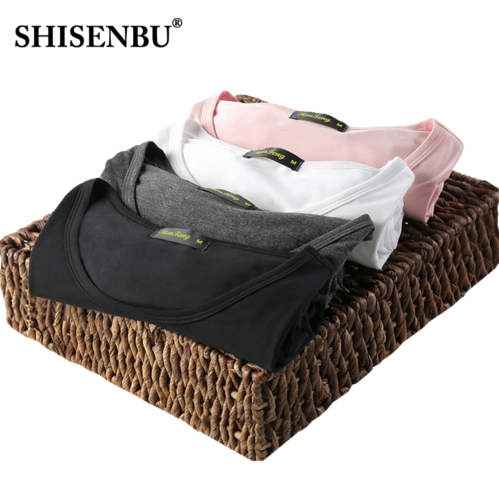 Fashion 2 Piece Set Bamboo Fiber Men T Shirt Sweat-absorbent Fabric Tees Undershirt Solid Color Tee Tops M-XXXL Free Shipping