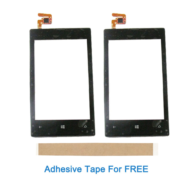 4.0 Inch For Nokia Lumia 520 525 N520 N525 Touch Screen With Frame Glass Lens Digitizer Front Glass Sensor With Frame With Tape