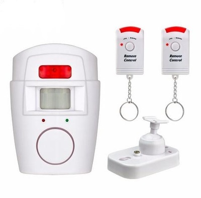 5PCS Home Security PIR MP Alert Infrared Sensor Anti theft Motion Detector Alarm Monitor Wireless Alarm