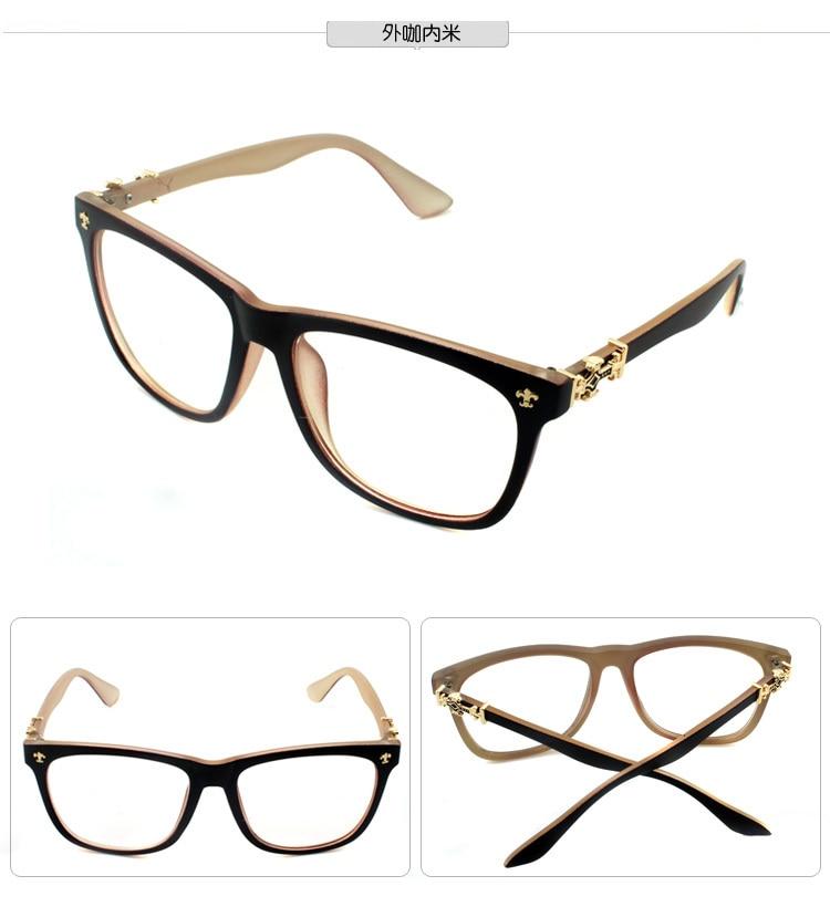 Eye Wear Augenrahmen Schwarz Braun Leopard Beige Brillen frauen ...
