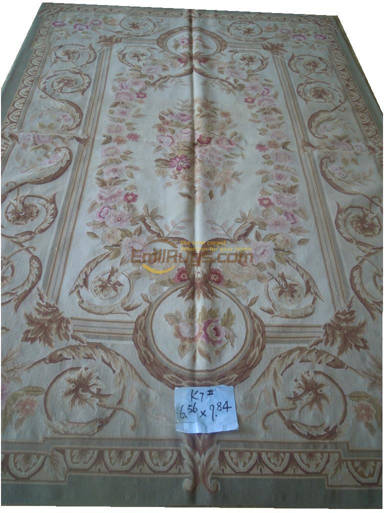 "Овечья шерсть французский aubusson ковры 200 СМ Х 300 СМ 6.56 ""Х 9.84"" gc019aubk7"