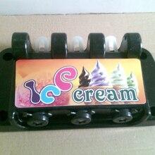 Передняя головная панель машины для мягкого мороженого, запасные части новые части для машины для мороженого