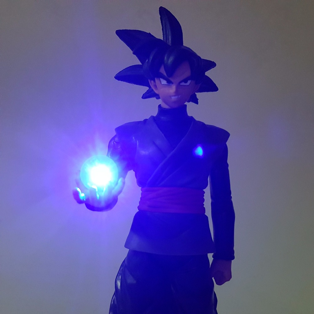 Dragon Ball Led Licht Schwarz Son Goku Zamasu Dragon Ball - Nachtlichter - Foto 4