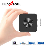 HEVARAL CSR8675 APTX Bluetooth Adapter 2IN1 5.0 Wireless Bluetooth Receiver Transmitter For TV PC Audio Adapters With 3.5mm Jack