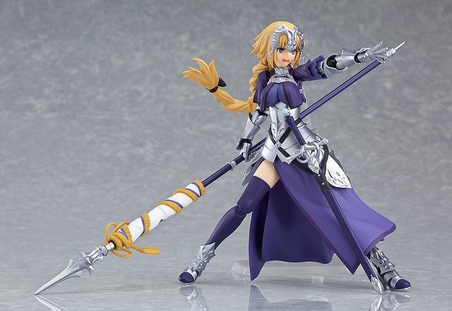 Anime Fate Grand Order Jeanne d'Arc Ruler Figma 366 PVC Action Figure Collection Model Kids Toys Doll 5.5 3
