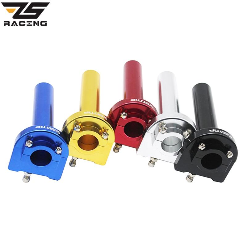 Acelerador de Giro r/ápido Manillar Acelerador de acci/ón r/ápida con Cable para Motocicleta de 50-250cc Manillar de Motocicleta