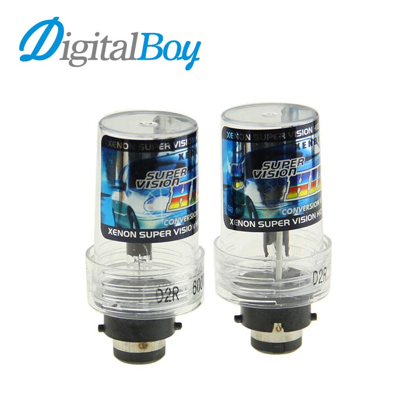 Digitalboy Car Xenon Bulb D2R 55W/35W HID Xenon Lamp Auto Car Replacement Headlight Fog Bulbs 4300k 5000k 6000k Car Lighting 2pcs lot d2r 55w 12v car hid xenon bulb for replacement auto headlight lamp light source 4300k 5000k 6000k 8000k 10000k 12000k