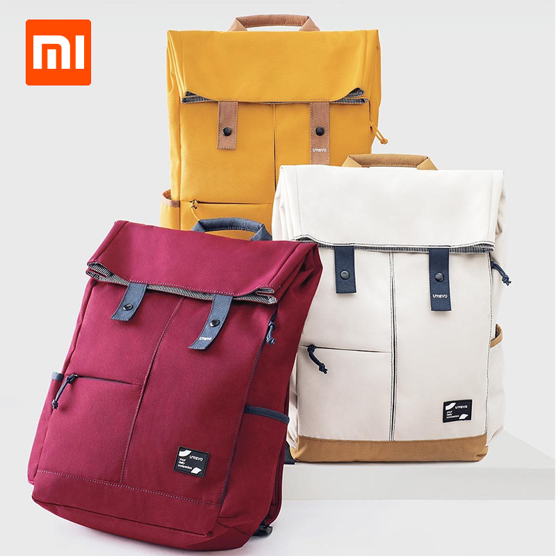 цена xiaomi UREVO College Casual Backpack grade 4 waterproof 13L big capacity tough and strong for 15.6 inches laptop and below онлайн в 2017 году
