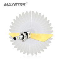 MAXGTRS H1 H3 H4 H7 H8 H11 9005 9006 9012 Car LED Headlight Bulbs CSP 60W