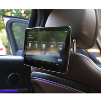 8 Core HD Android 8.1 Car Headrest Monitor 12V Car DVD Video Player Bluetooth Rear Seat Entertainment System For Mercedes Benz
