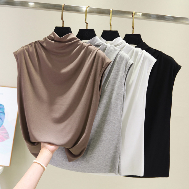 Summer Tank Top Womens Tunic Button V Neck Tops Sleeveless Loose Casual Tank Ladies Clothes Women haut femme Streetwear 2019