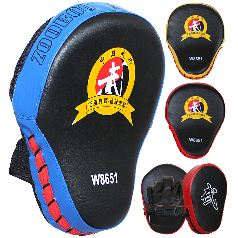 d349574dc Saco De Boxe Saco De Pancadas ZOOBOO Boxe sacos de Areia de FItness Pad  Thai Kick Boxing MMA Training Soco Mitt Alvo Luvas