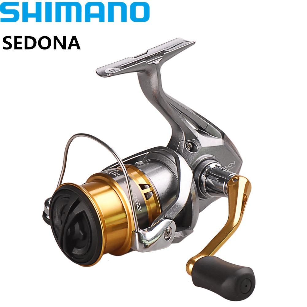 SHIMANO SEDONA C2000S/C2000HGS/2500 s/2500HG/C3000HG 4000 C5000XG 4BB Spinning Angeln Reel Hagane Getriebe saltewater Angeln Reel
