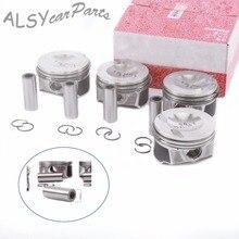 KEOGHS 4Pcs Piston & Ring 82.50mm Pin 21mm 06J 198 151 B For Audi TT A3 VW Passat Tiguan Golf GTI 2.0T 06H 107 065 AM
