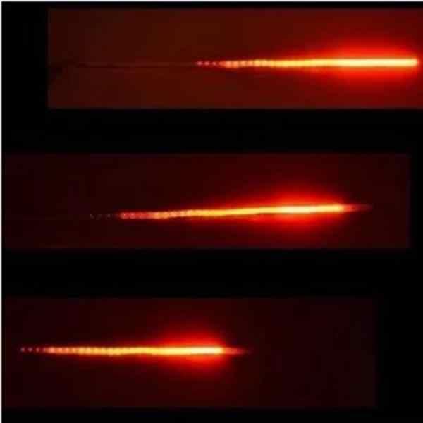 30 см Светодиодная лента светящаяся стробоскоп неоновая лампа самоклеящаяся задняя неоновая полоса огни для автомобиля внутреннее украшение красный