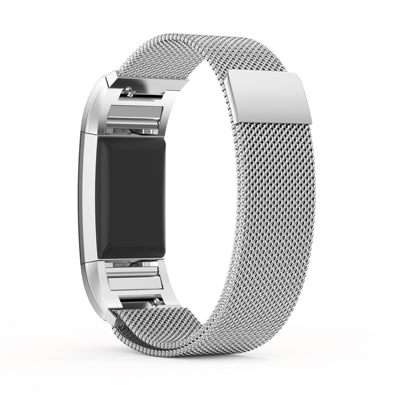 mijobs Stainless Steel Magnetic Milanese Loop Band for Fitbit Charge 2 Replacement Wristband Strap for Fitbit Charge 2 Watchband in Smart Accessories from Consumer Electronics