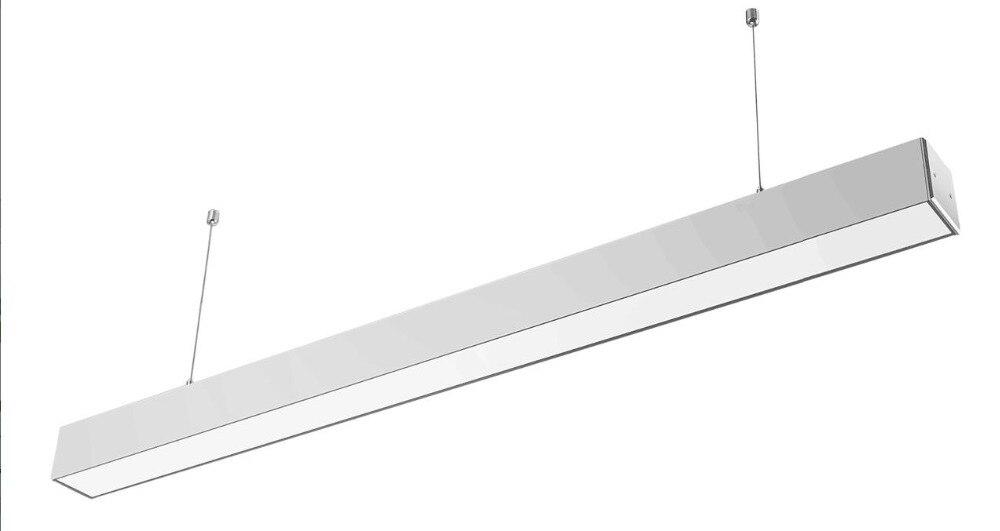 Haute qualité en aluminium 30 w 1.2 m LED lumière linéaire led linéaire haute baie lumière avec fil blanc chaud naturel blanc et blanc froid