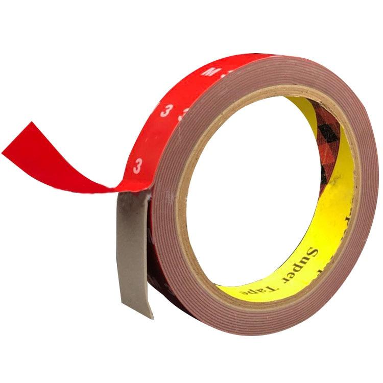LC/_ Waterproof Double Sided Sticky Heavy Duty Sheet of Adhesive Tape Glue Sera