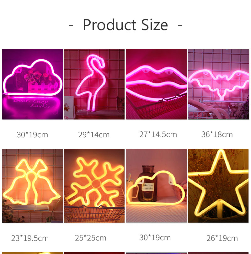 Creative Love in Heart Led Neon Sign Light for Holiday Xmas Party Wedding Decorations Bar Home Wall Decor Fashion Lighting (2)