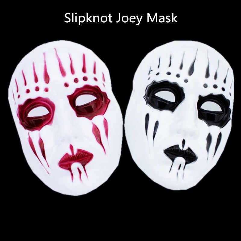 2 шт., маска для косплея Джои из slipknot на Хэллоуин, белые мужские вечерние маски, маскарадные маски, красный/черный, аноним