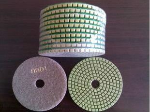 50#-3000#  (0018) diamond wet flexible polishing pads for granite and marble/diamond polishing pads/wet polishing pads