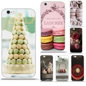 For Sony Xperia Z Z1 Z2 Z3 Z4 Z5 compact Mini Premium M2 M4 M5 T3 E3 E5 XA Novelty Fundas Transparent Soft Paris Laduree Macaron
