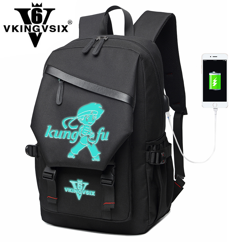 New casual USB backpack male luminous charging pack leisure fashion large capacity school student bags college wind backpack man free shipping 2015 new famous designer brand fashion leisure cavans school college wind backpack eiffel tower pattern