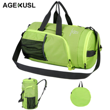 AGEKUSL 4 IN 1 Foldable Sport Bags Training Gym Climbing Camping