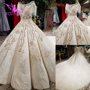 Image 2 - AIJINGYU Slim Wedding Dress Antique Gowns Fat Hot Netherlands Real Price Gown Party Vintage InspiNew Wedding Dresses