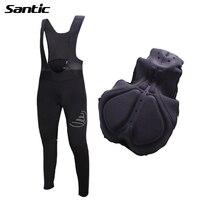 Santic Men S Cycling Pants Mesh Breathable 4D Pad MTB Road Bike Bib Pants Cycle Trousers