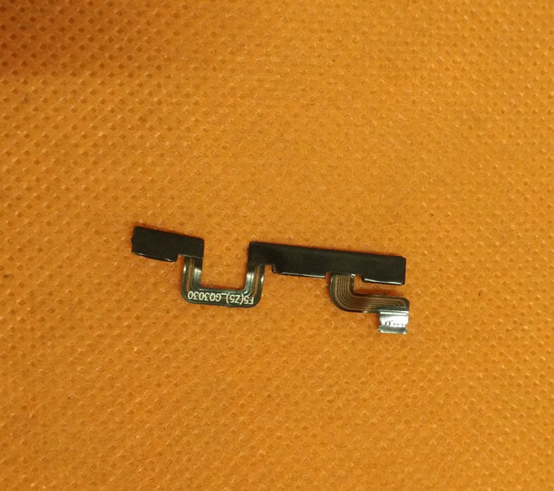 Used Original Power On Off Button Volume Key Flex Cable FPC For Ulefone Metal 5 Inch HD MTK6753 Octa Core Free Shipping