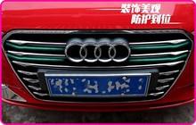 De alta calidad en acero inoxidable 12 unids parrilla Delantera decoración brillante recorte para Audi A3 2013-2015