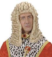 Длинные светлые суд судья благородный человек нарядное платье короля Франции Colonial Ренессанс барокко костюм Головные уборы партии Интимные...