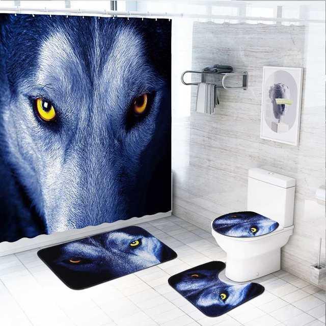Bathroom Shower Curtain 4