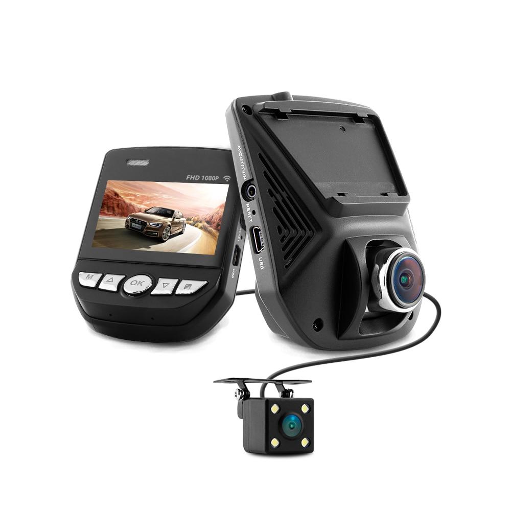 XYCING A305D Dual Cam Car DVR Novatek 96658 Car Camcorder Sony Sensor Night Vision HD 1080P Dual Lens DVR with Rear View Camera bigbigroad for honda insight gienia vezel city car wifi dvr novatek 96658 dash cam g sensor car black box night vision