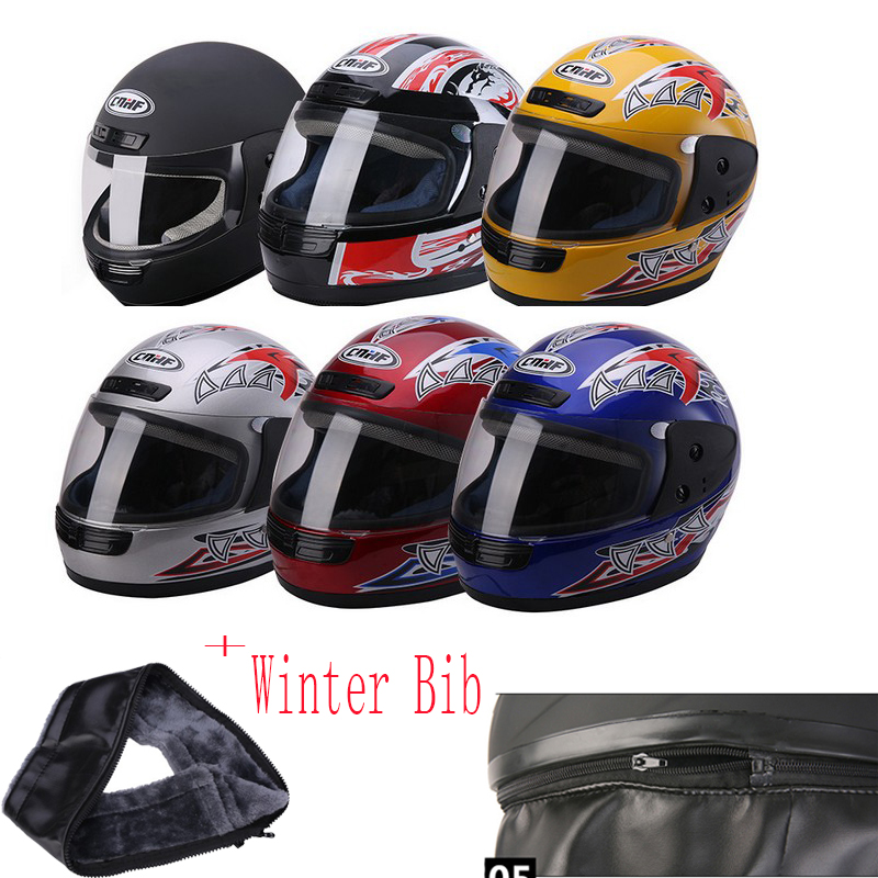 Motorcycle Helmet Winter Warm Full Face Racing Helmets Approved Capacete Casco Casque Moto High quality
