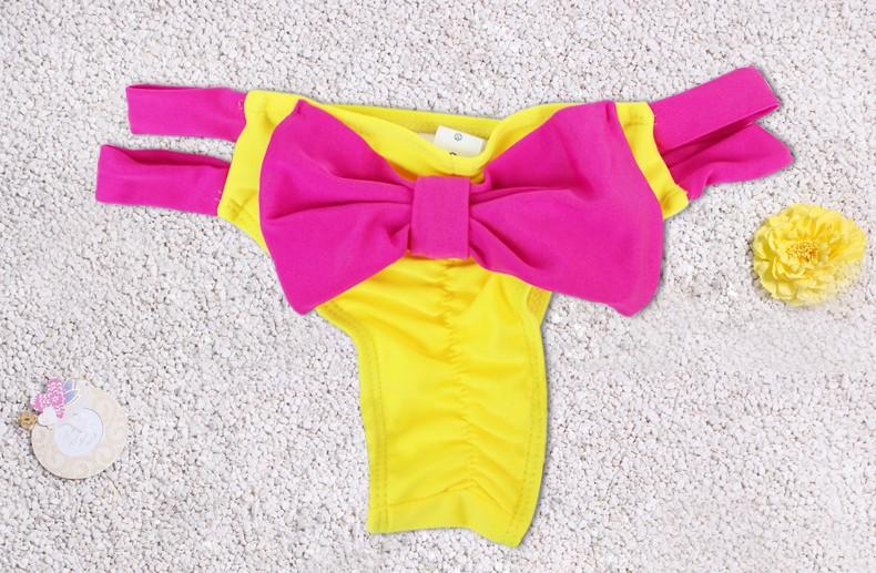 Summer style 17 swimsuit bow bikini bottom cute Swimwear brand biquini bikinis Beach suit women usa brazilian bikini bottoms 14