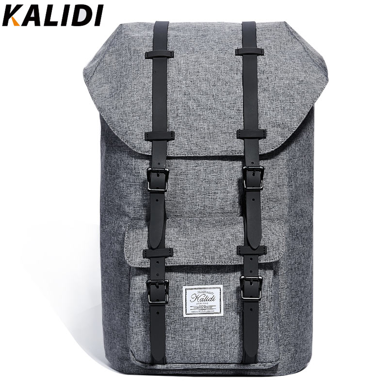KALIDI 15 6 Inch Laptop Bag Backpack Men Fashion School Bag and Travel Hiking Rucksack Notebook