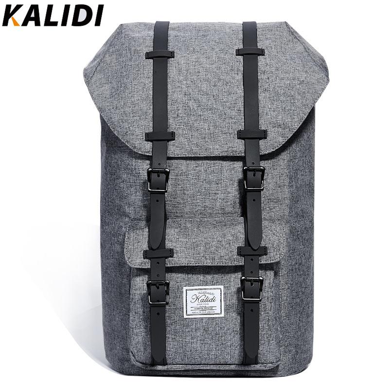 KALIDI 15.6 Inch Laptop Bag Backpack Men  Fashion School Bag And  Travel Hiking Rucksack  Notebook Bag For Mackbook 15 17.3 Inch