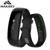 Makibes M88 Bluetooth Smart Band Bracelet Watches Blood Pressure Heart Rate Monitor Pedometer Sleep Monitor Fitness