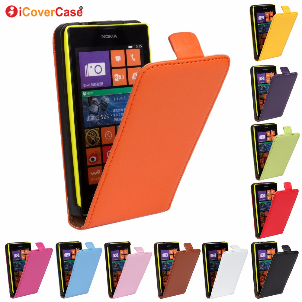 Case For <font><b>Nokia</b></font> Lumia 520 530 535 630 625 820 920 930 640 <font><b>XL</b></font> 650 <font><b>950</b></font> Leather Cases Coque Hoesjes Capinhas Carcasa Etui Capa image