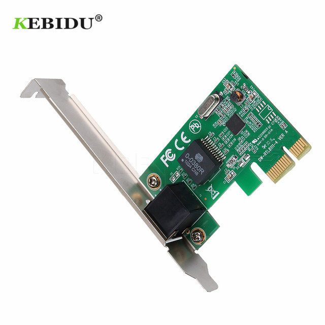 Kebidu PCI Express PCI-e Ağ Kartı 1000 Mbps Gigabit Ethernet 10/100/1000 M RJ-45 lan kartı Dönüştürücü Ağ denetleyici