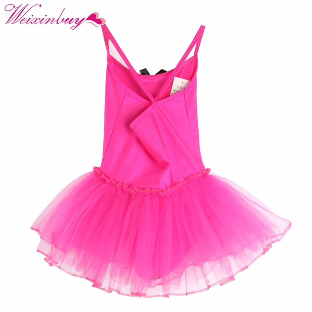 Children Baby Girls Gymnastics Dance Dress Kids Girl -6290