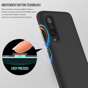 Image 3 - TOIKO X Guard 2 in 1 Shockproof Rugged Armor Phone Cases for Xiaomi Mi 9 Back Cover Hard PC Soft TPU Bumper Protective Shell New