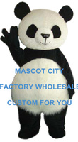 Fat Kawaii Panda Mascot Costume Adult Size Giant Panda Carnival Party Cosply Mascotte Mascota Fit Suit Kit EMS FREE SHIP SW1060