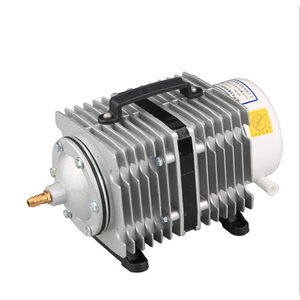Image 2 - Sunsun 水族館電磁空気圧縮機空気ポンプは大型に適し水族館池エアレーター 220 v およびガス石