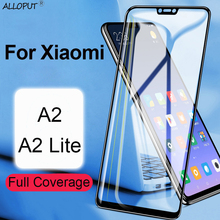 Premium Glass For Xiaomi mi A2 Screen Protector Xiaomi mi A2 Lite Hard Glass For Xiaomi mi A2 Lite Full Cover Protective Film все цены