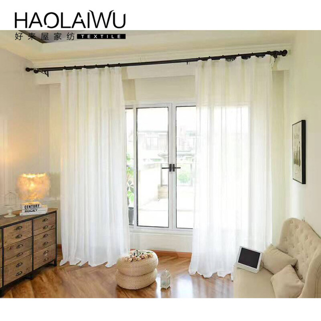 solid tulle curtains for bedroom tulle window curtains modern sheer voile curtain drapes vitrage gordijnen voor