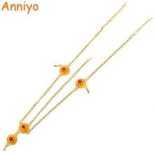 Wedding-Headpiece Jewelry Head-Chain Habesha Ethiopian Hair-Pice Green-Stone Gold-Color