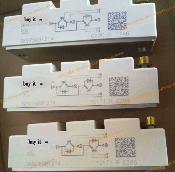 Free shipping NEW SKM75GB12T4 MODULE free shipping new